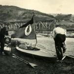 Faltboot mit ekcWimpel